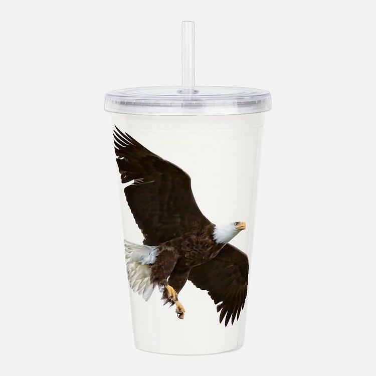 Amazing Bald Eagle Acrylic Double-wall Tumbler