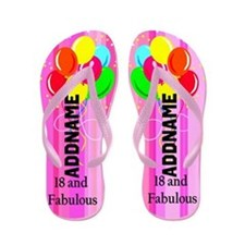 Fabulous 18th Flip Flops