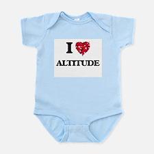 I Love Altitude Body Suit