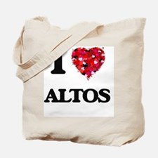 I Love Altos Tote Bag