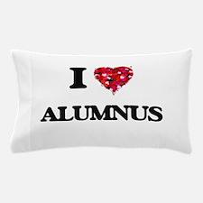 I Love Alumnus Pillow Case