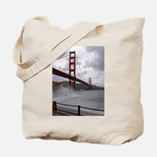 Golden Gate from Fort Point Tote Bag