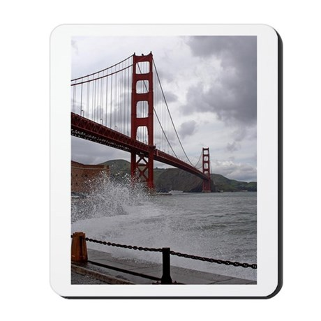 Golden Gate from Fort Point Mousepad