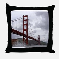 Golden Gate from Fort Point Throw Pillow