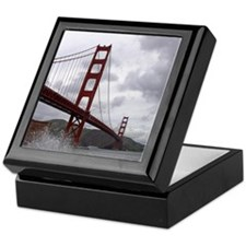 Golden Gate from Fort Point Keepsake Box
