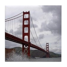 Golden Gate from Fort Point Tile Coaster