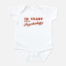 Crazy About Psychology Infant Bodysuit