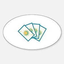 Tarot Card Reading Deck Fortune Teller Decal