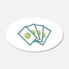 Tarot Card Reading Deck Fortune Teller Wall Decal