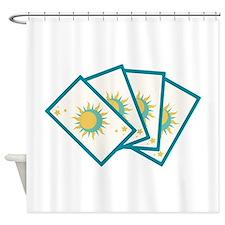 Tarot Card Reading Deck Fortune Teller Shower Curt