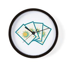 Tarot Card Reading Deck Fortune Teller Wall Clock