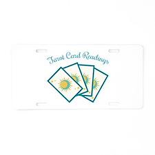 Tarot Card Reading Aluminum License Plate