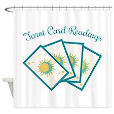 Tarot Card Reading Shower Curtain