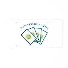 Your Future Alwaz Aluminum License Plate