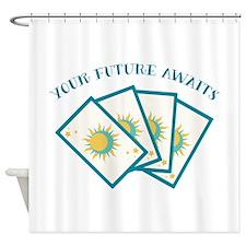 Your Future Alwaz Shower Curtain