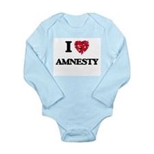 I Love Amnesty Body Suit