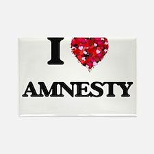 I Love Amnesty Magnets