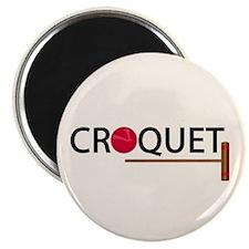 Croquet Magnet