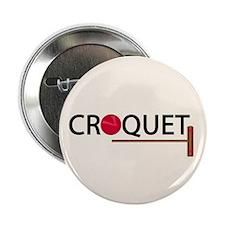 """Croquet 2.25"""" Button (10 pack)"""