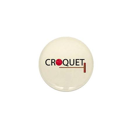 Croquet Mini Button (10 pack)
