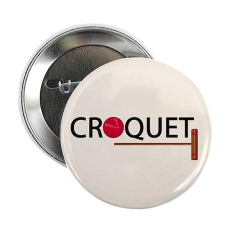 """Croquet 2.25"""" Button (100 pack)"""