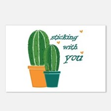 Sticking Wtih You Postcards (Package of 8)