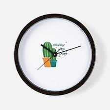 Sticking Wtih You Wall Clock