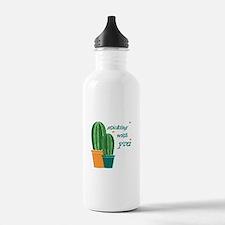 Sticking Wtih You Water Bottle