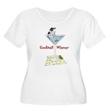 Piebald Cocktail Wiener T-Shirt