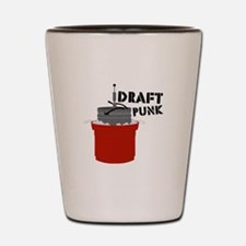 Draft Punk Beer Keg Shot Glass