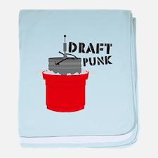 Draft Punk Beer Keg baby blanket