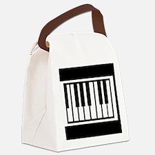 Midi Keyboard Musical Instrument Canvas Lunch Bag