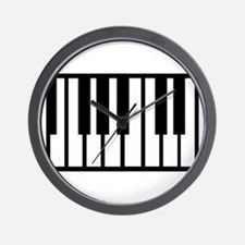 Midi Keyboard Musical Instrument Wall Clock