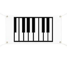 Midi Keyboard Musical Instrument Banner