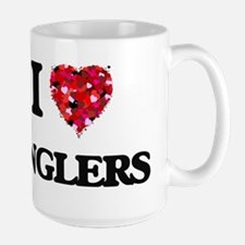 I Love Anglers Mugs