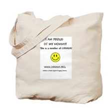 Proud of Mommy Tote Bag