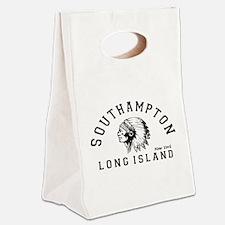 Southampton - Long Island. Canvas Lunch Tote