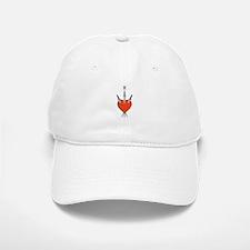 Heart Symbol Baseball Baseball Baseball Cap