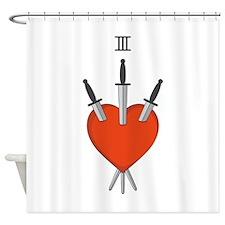 Heart Symbol Shower Curtain