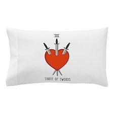 Three of Swords Pillow Case