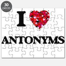 I Love Antonyms Puzzle