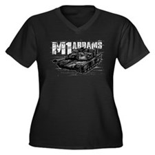 M1 Abrams Plus Size T-Shirt
