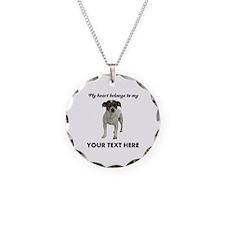 Custom Smooth Fox Terrier Necklace