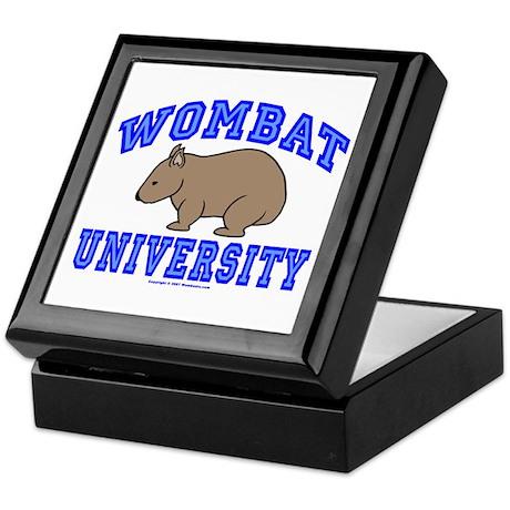 Wombat University II Keepsake Box