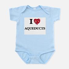 I Love Aqueducts Body Suit
