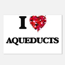I Love Aqueducts Postcards (Package of 8)