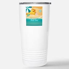 Personalized Summer Bea Travel Mug