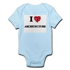 I Love Architecture Body Suit