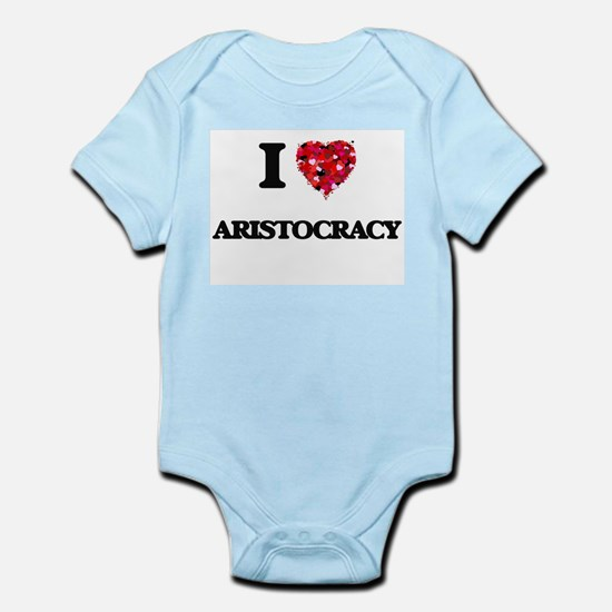 I Love Aristocracy Body Suit