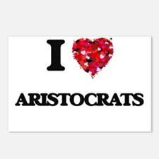 I Love Aristocrats Postcards (Package of 8)
